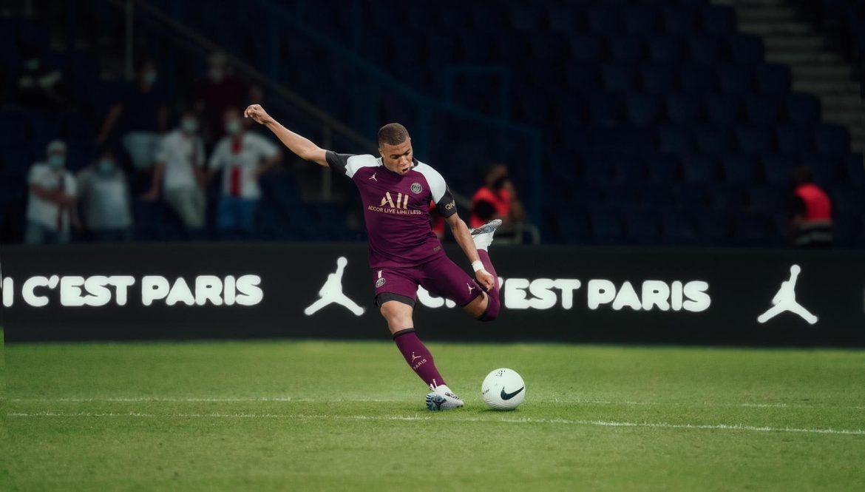 Terceira camisa do PSG 2020-2021 Jordan a