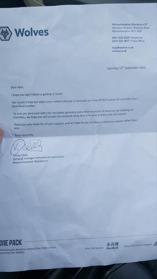 Wolverhampton Torcedor Carta