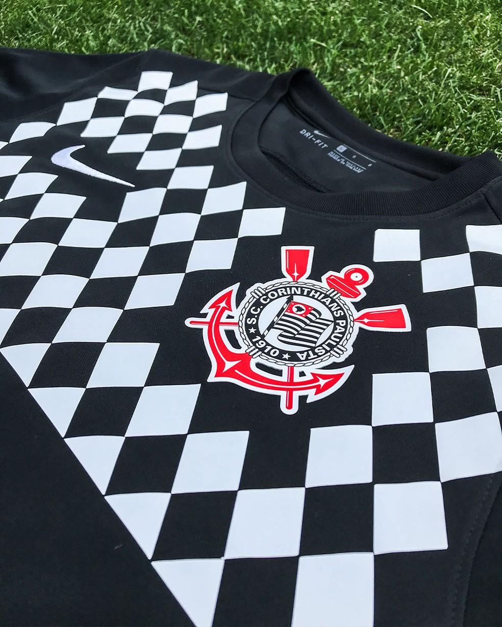 camisa do Corinthians 1990 Ronaldo Giovanelli Nike