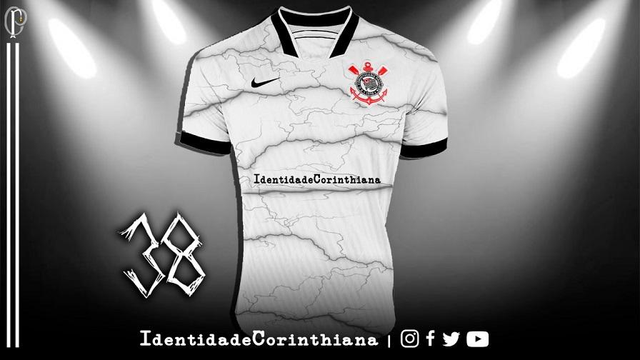 Informações sobre as camisas do Corinthians 2021-2022