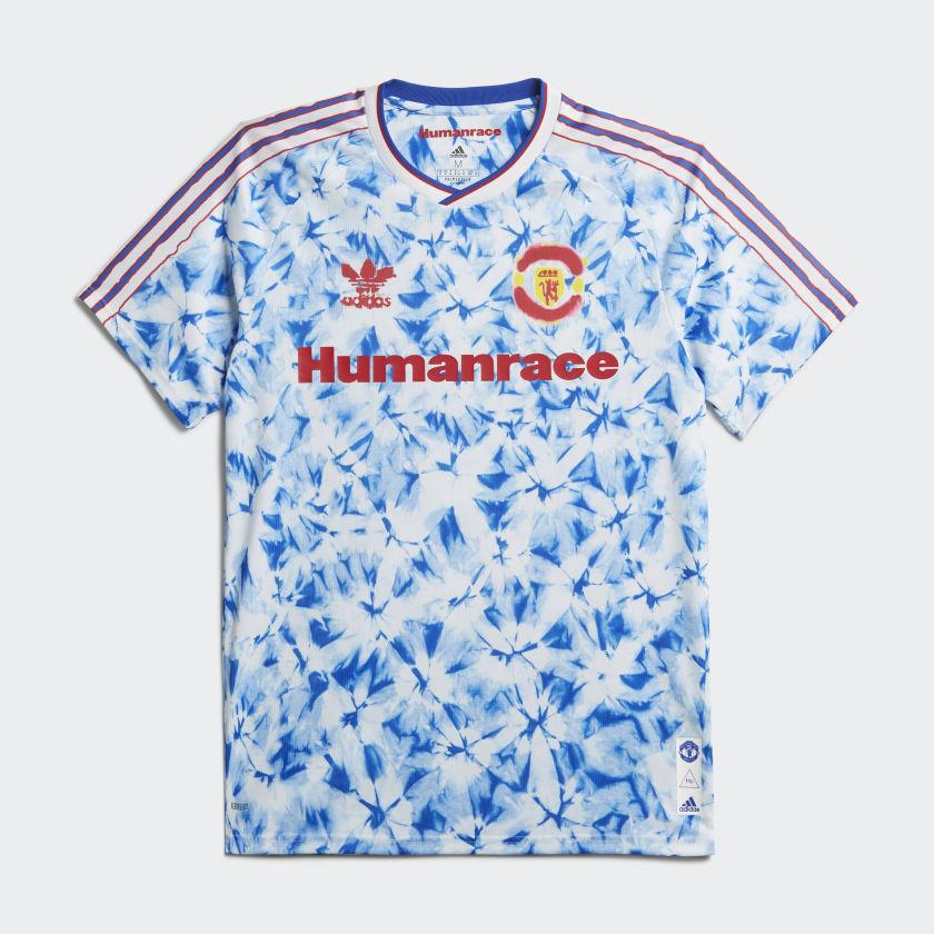 Adidas x Pharrell Coleção Human Race Manchester United