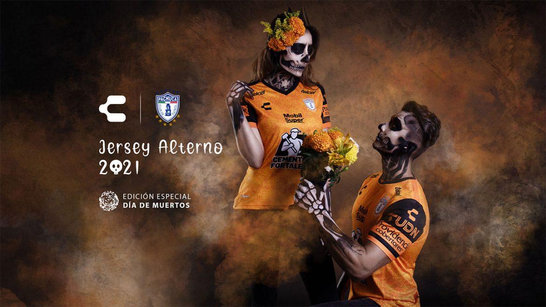 Camisa Dia de Los Muertos do Pachuca 2020 Charly a