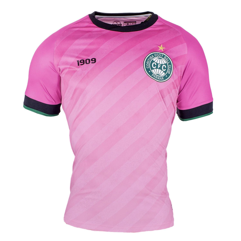 Camisa Outubro Rosa do Coritiba 2020 1909