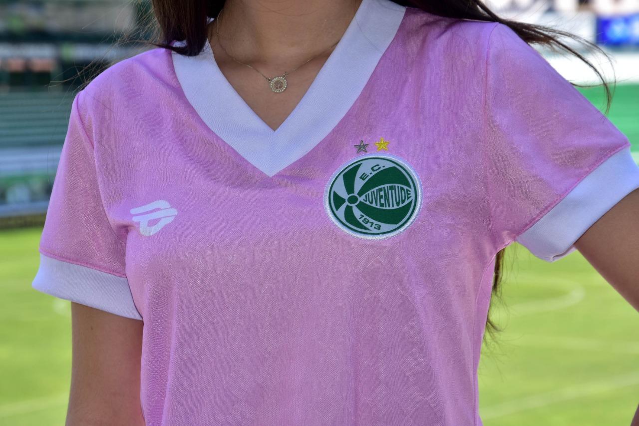 Camisa Outubro Rosa do EC Juventude 2020 19Treze 3