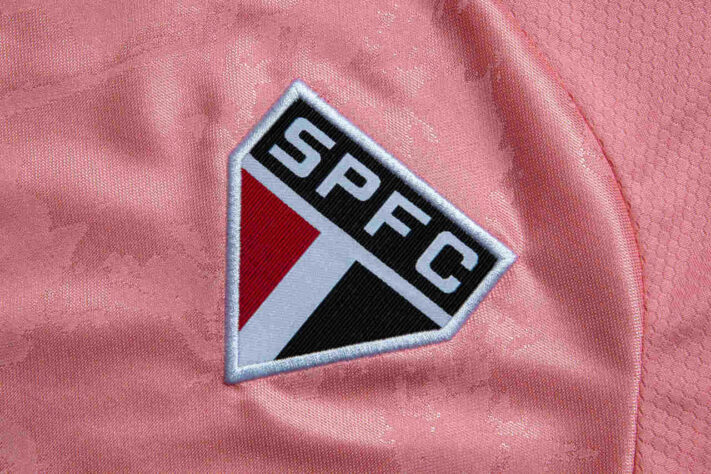 Camisa Outubro Rosa do São Paulo FC 2020 Adidas a