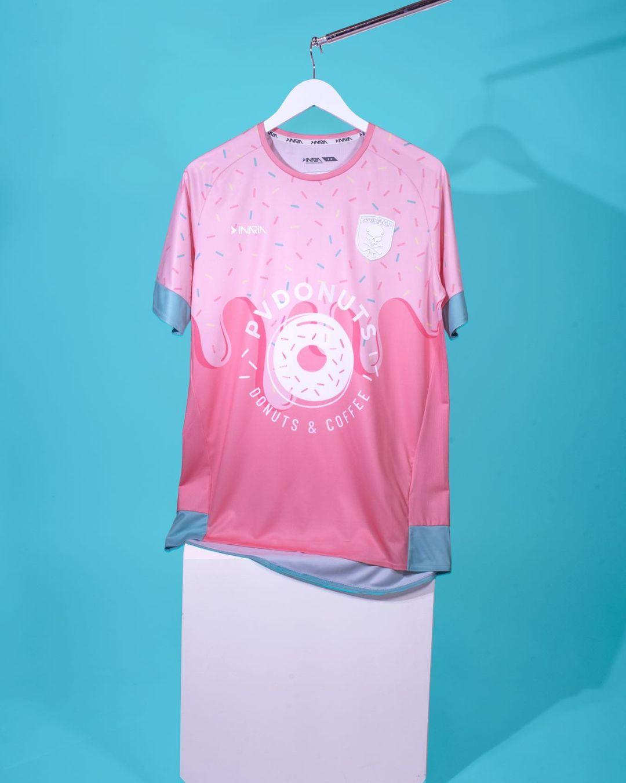 Camisa Treat Yo Self do Providence City FC 2020 Inaria