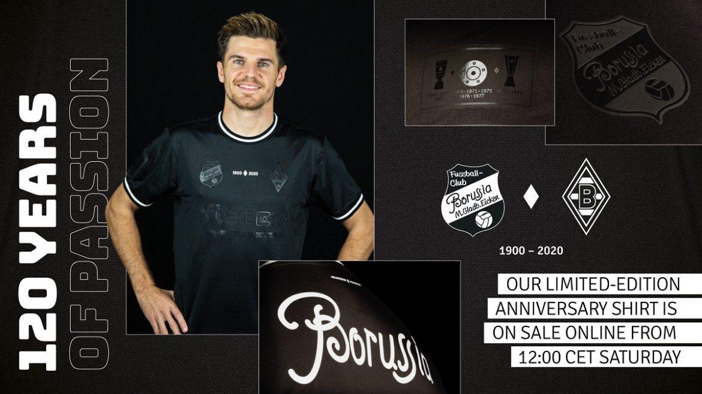 Camisa de 120 anos do Borussia Mönchengladbach 2020 PUMA
