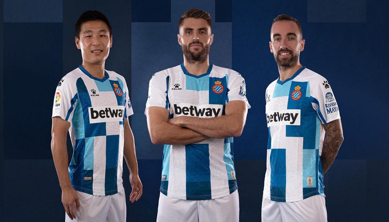 Camisa de 120 anos do Espanyol 2020 Kelme