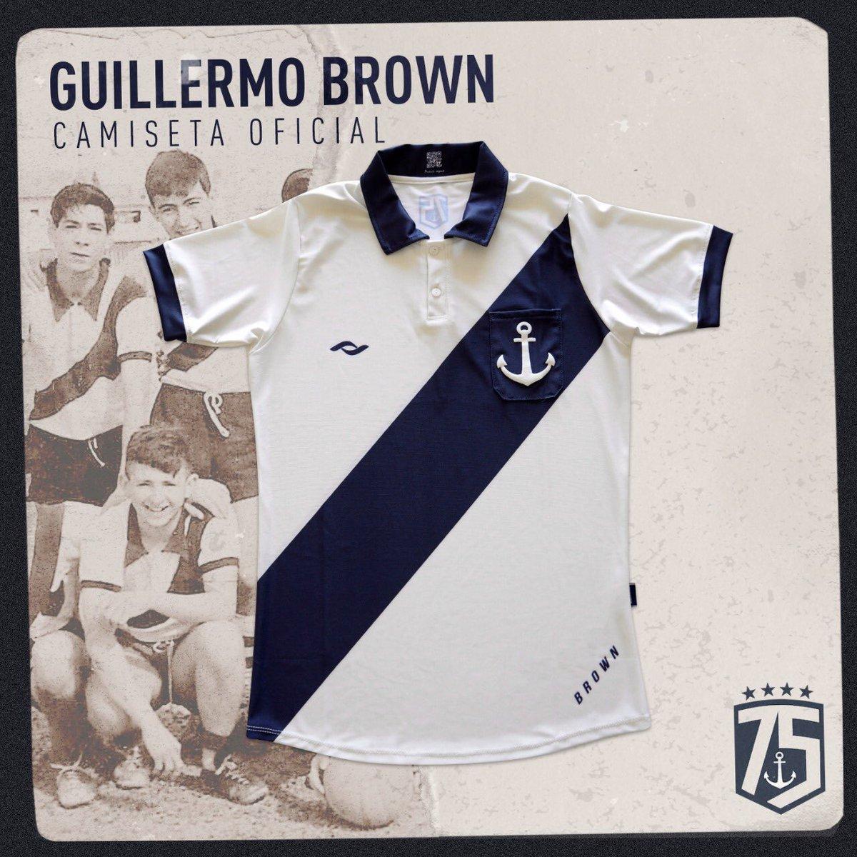Camisa de 75 anos do Guillermo Brown 2020 Coach