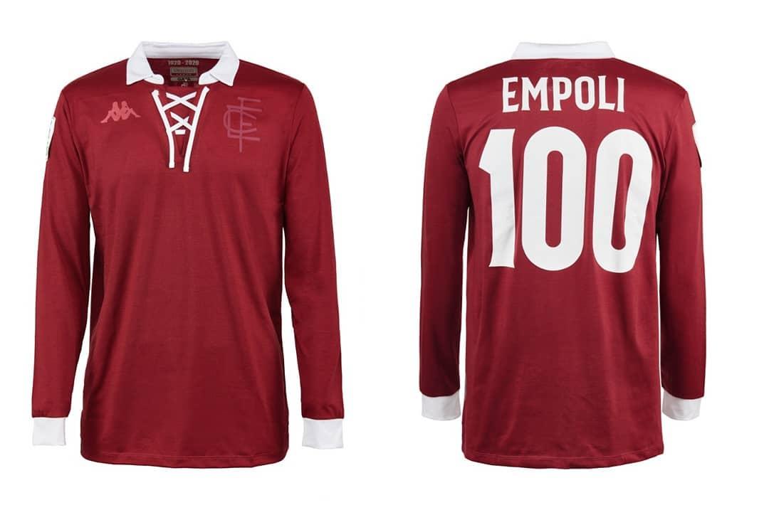 Camisa do centenário do empoli 2020 kappa
