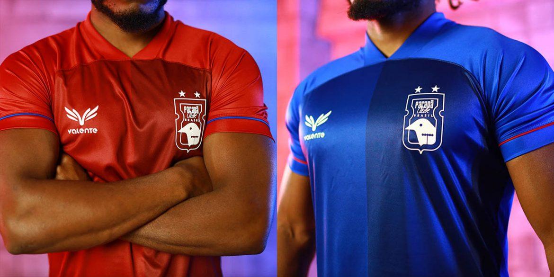 Camisas 3 e 4 do Paraná Clube 2020-2021 Valente a