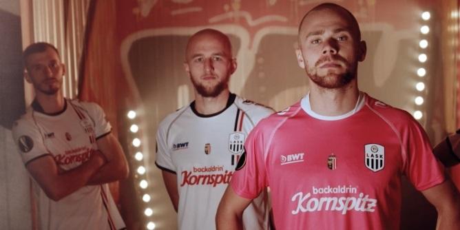 Camisas Europa League do LASK Linz 2020-2021 BWT