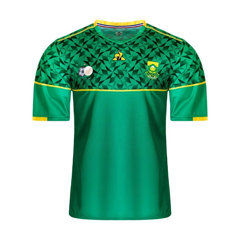 Camisas da África do Sul 2020-2021 Le Coq Sportif Away