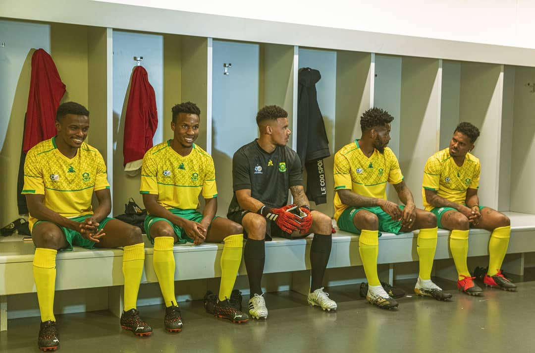 Camisas da África do Sul 2020-2021 Le Coq Sportif a