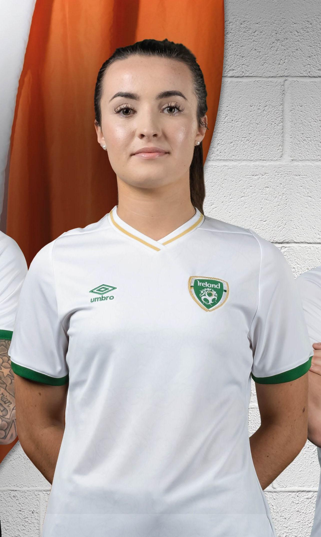 Camisas da Seleção da Irlanda 2020-2021 Umbro Away Mulher