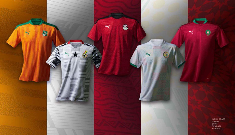 Camisas das Seleções Africanas da PUMA 2020-2021