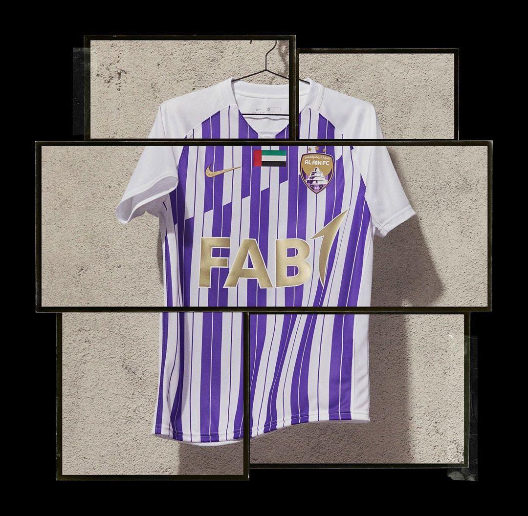 Camisas do Al Ain FC 2020-2021 Nike
