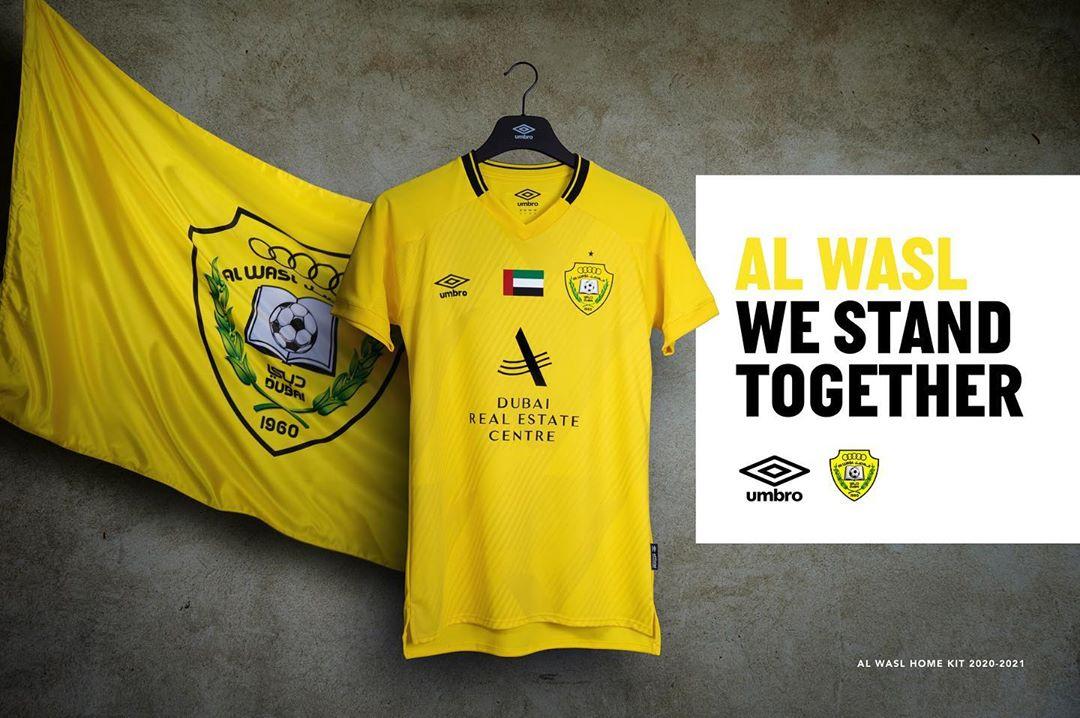 Camisas do Al Wasl SC 2020-2021 Umbro