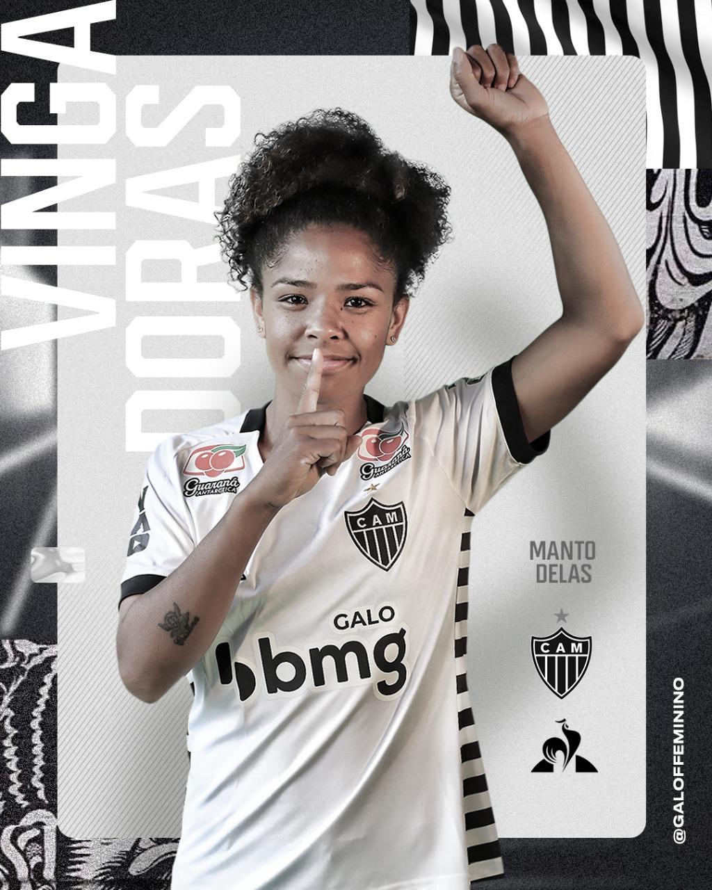 Camisas do Atlético-MG Feminino 2020-2021 Le Coq Sportif