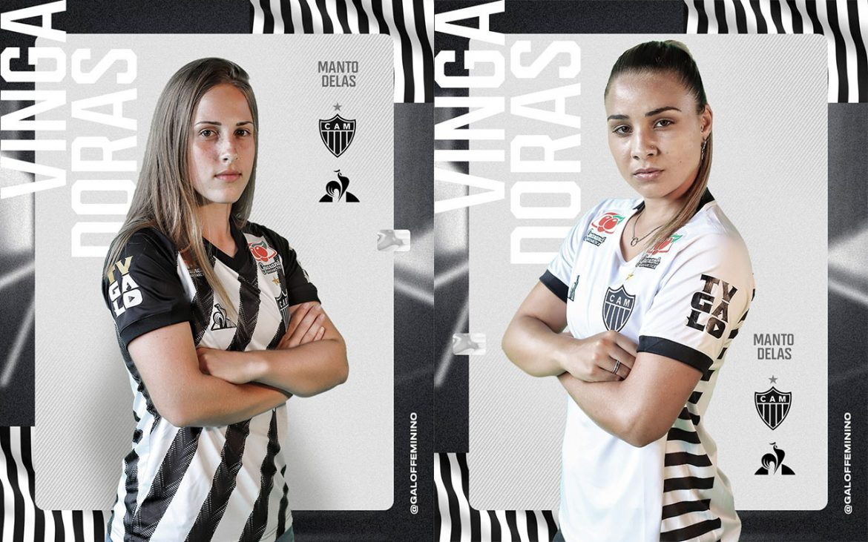 Camisas do Atlético-MG Feminino 2020-2021 Le Coq Sportif a