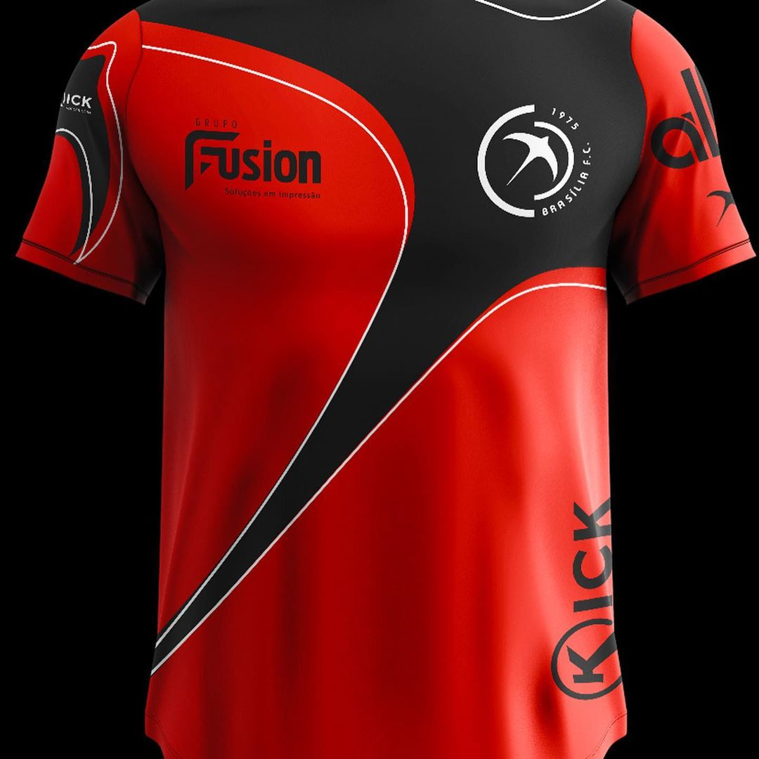 Camisas do Brasília FC 2020-2021 + Novo escudo