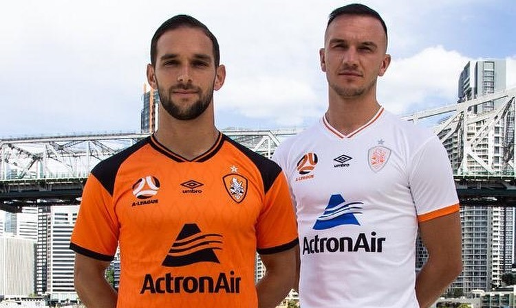 Camisas do Brisbane Roar 2020-2021 Umbro