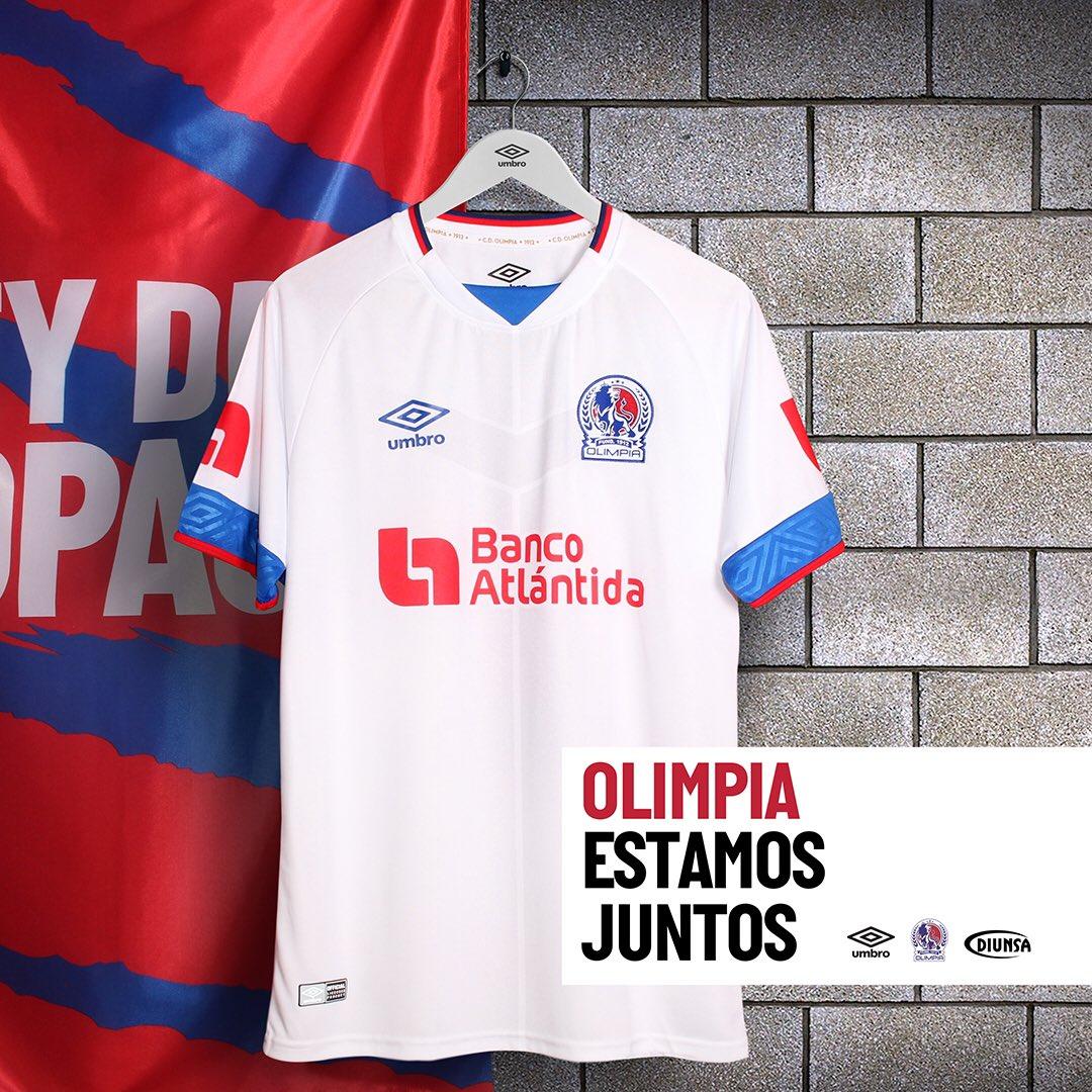 Camisas do CD Olimpia 2020-2021 Umbro