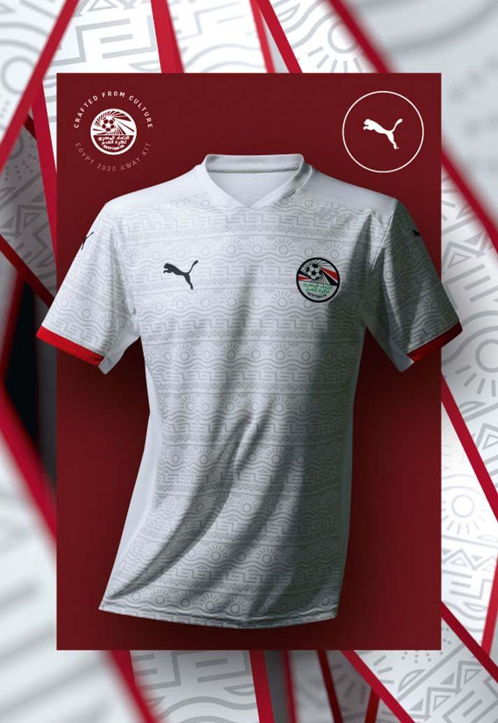 Camisas do Egito 2020-2021 PUMA Away