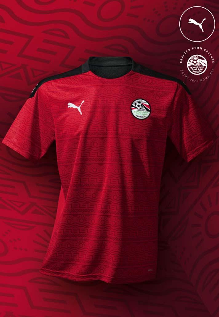 Camisas do Egito 2020-2021 PUMA Home