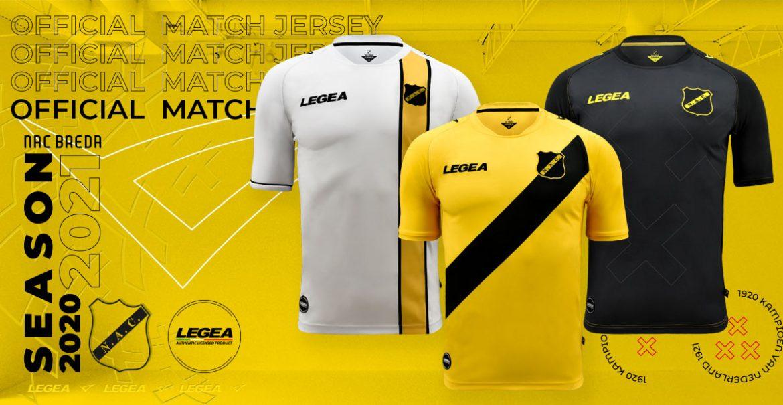 Camisas do NAC Breda 2020-2021 Legea