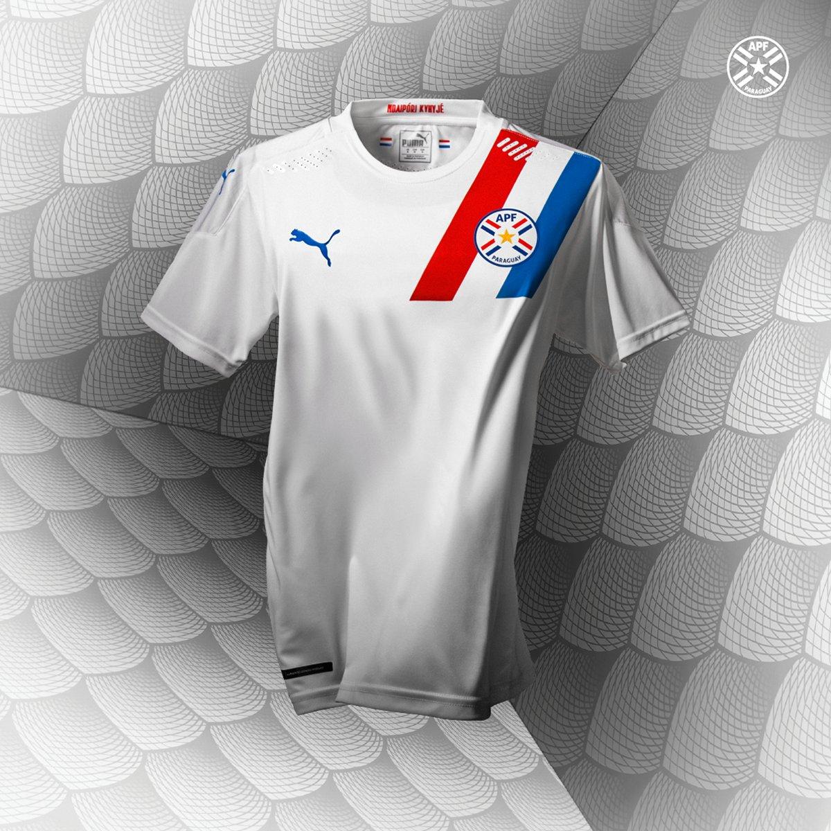 Camisas do Paraguai 2020-2021 PUMA