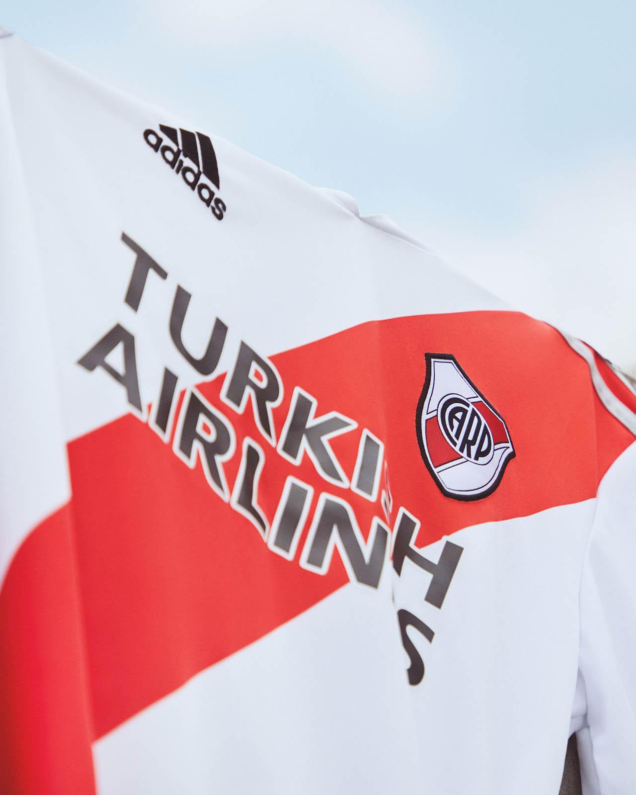 Camisas do River Plate 2020-2021 Adidas Titular