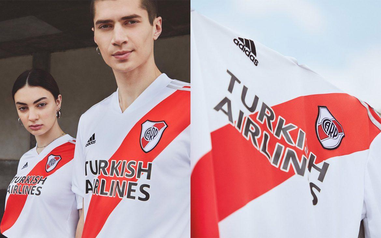 Camisas do River Plate 2020-2021 Adidas a