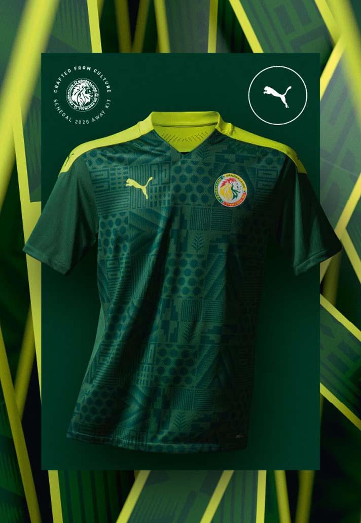 Camisas do Senegal 2020-2021 PUMA Away