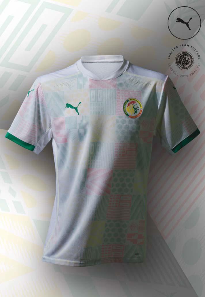 Camisas do Senegal 2020-2021 PUMA Home
