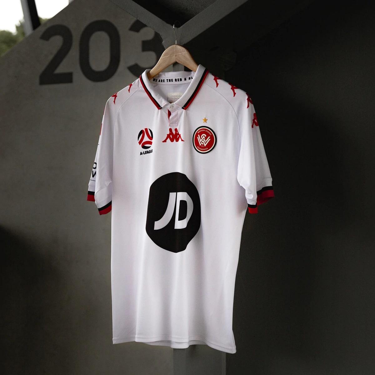 Camisas do Western Sydney Wanderers 2020-2021 Kappa