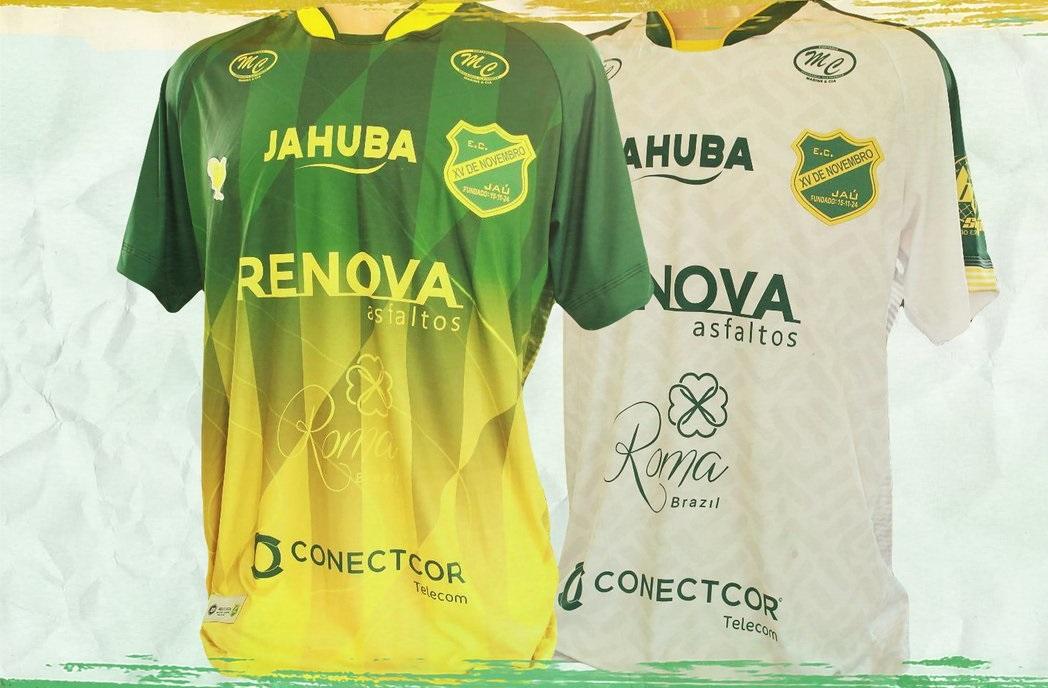 Camisas do XV de Jaú 2020-2021