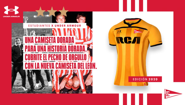 Estudiantes lança camisa em homenagem ao tri da América a