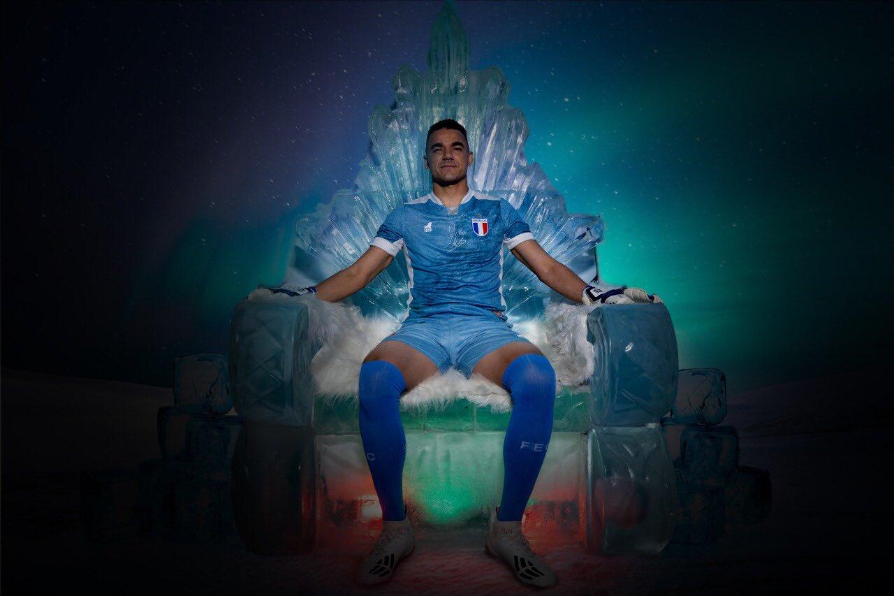 Terceira camisa do Fortaleza 2020-2021 Leão1918 Goleiro