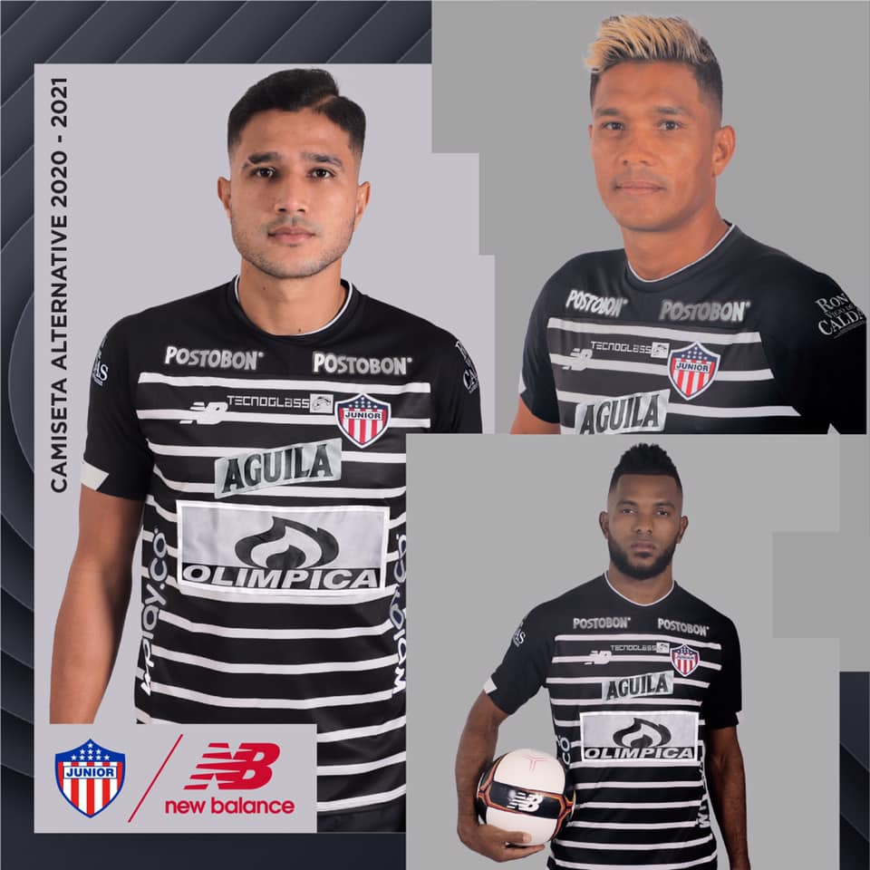 Terceira camisa do Junior Barranquilla 2020-2021 New Balance