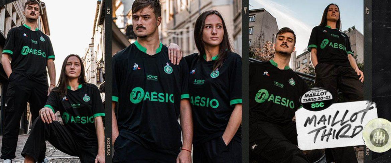 Terceira camisa do Saint-Etienne 2020-2021 Le Coq Sportif