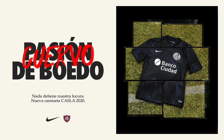 Terceira camisa do San Lorenzo 2020-2021 Nike a