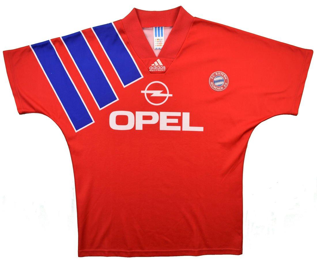 adidas bayern munique 1992-93 home kit