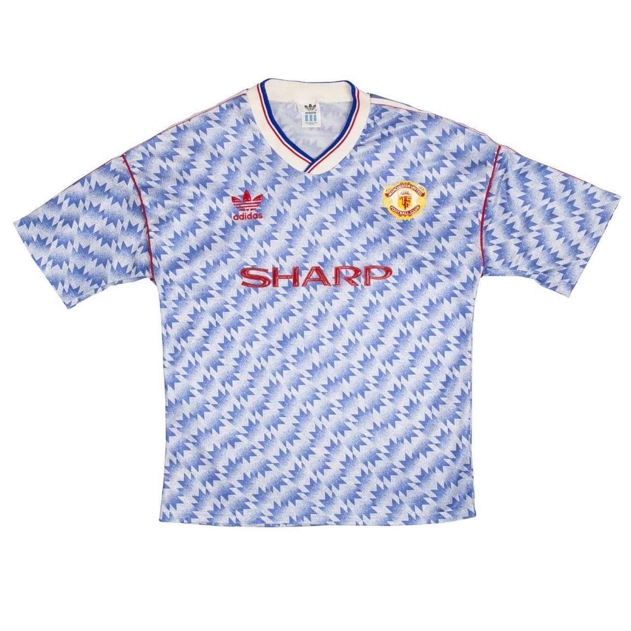 adidas manchester united 1990-92 away kit