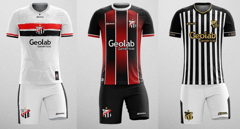 Anápolis FC divulga camisas vencedoras de concurso