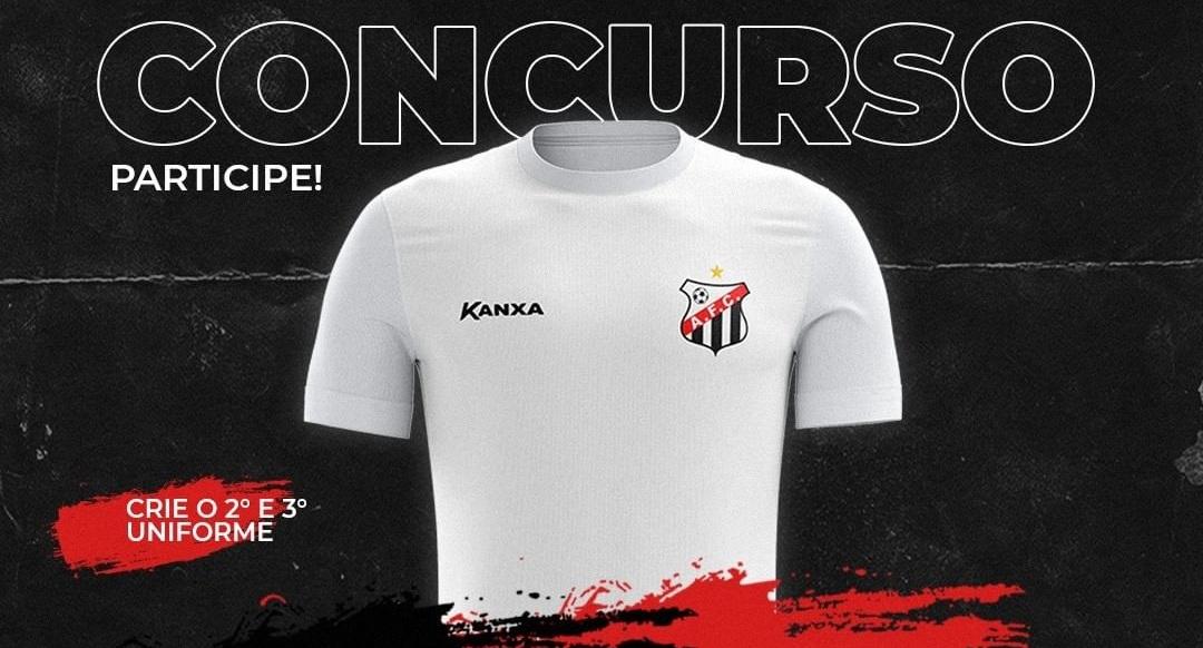 Anápolis lança concurso para as camisas 2021