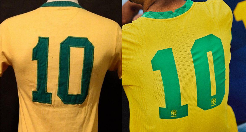 Athleta ou Umbro Novas camisas da Seleção Brasileira trazem fonte inspirada na Copa de 1970