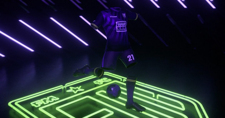 Camisa do Football Manager 2021 Hummel