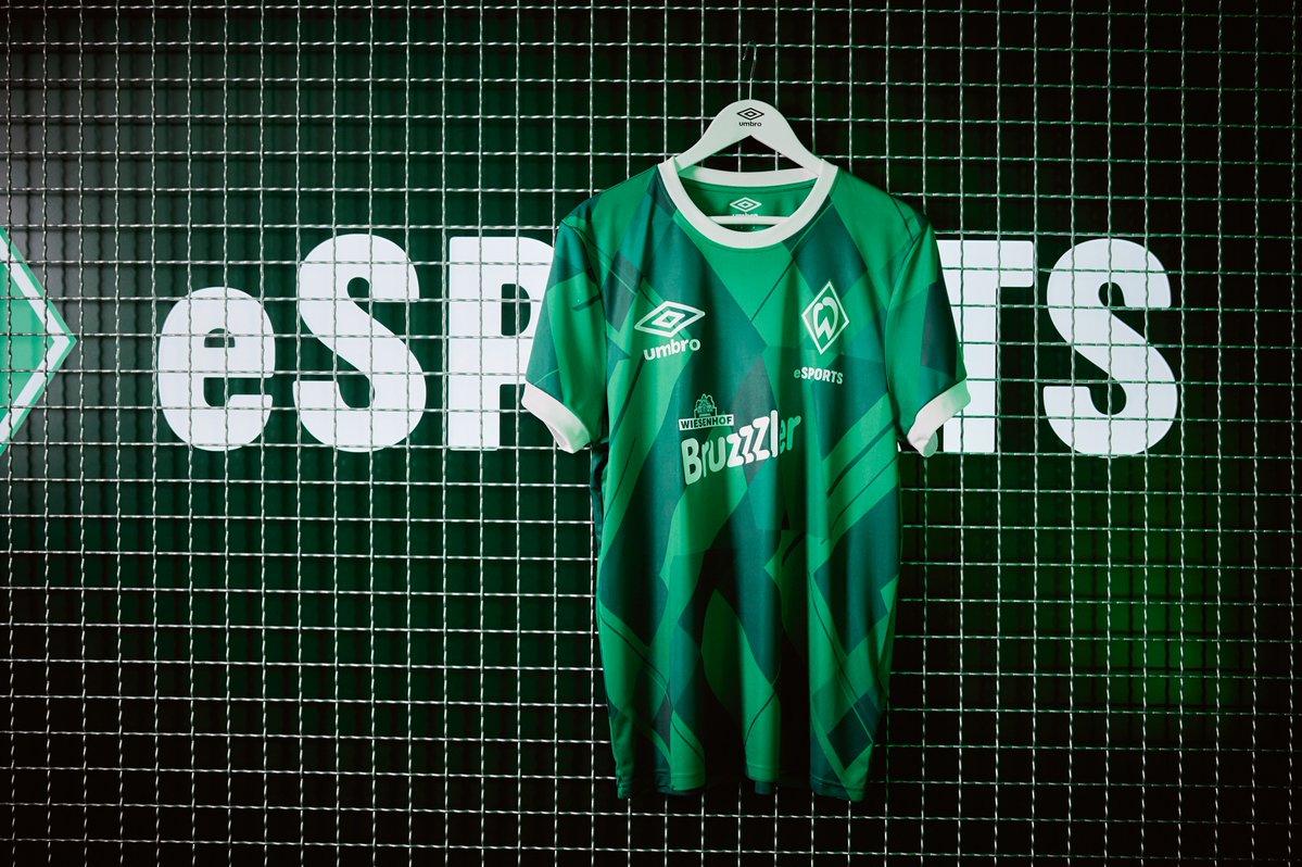 Camisa eSports do Werder Bremen 2020-2021 Umbro