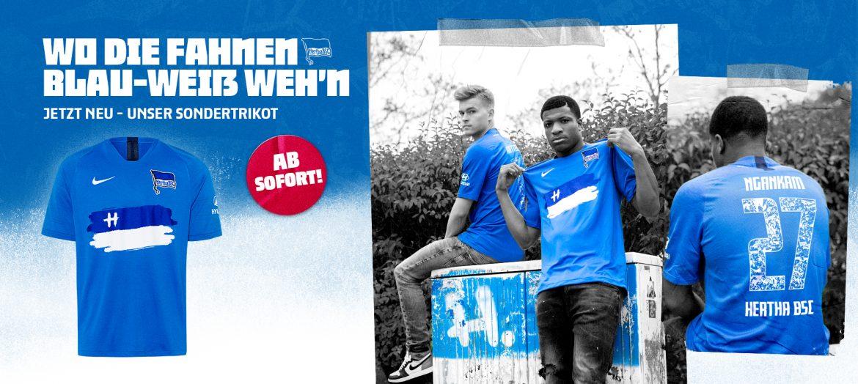 Camisa especial do Hertha Berlin 2020-2021 Nike a